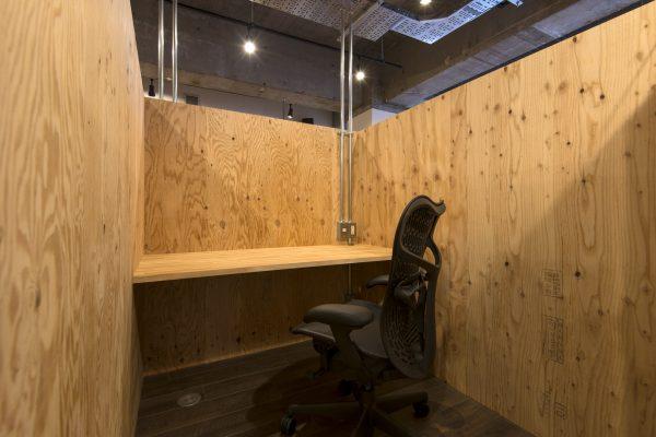シェアオフィスの個室のイメージ(その3)