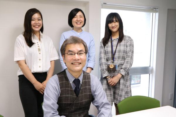 山口さんと、シェアオフィス6Fスタッフ