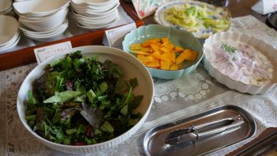 野菜ビュッフェ