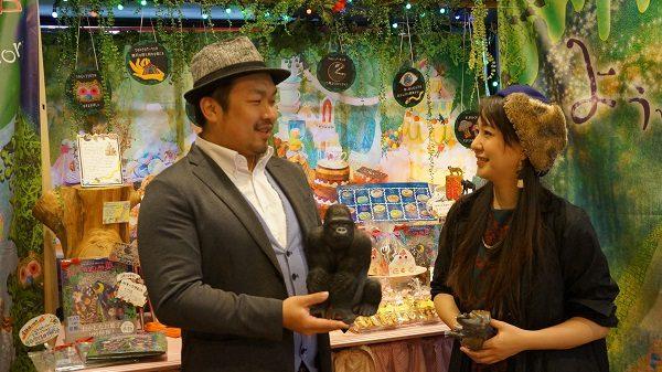おかしさん 主宰 Saoriさん、代表 飯田健太さ