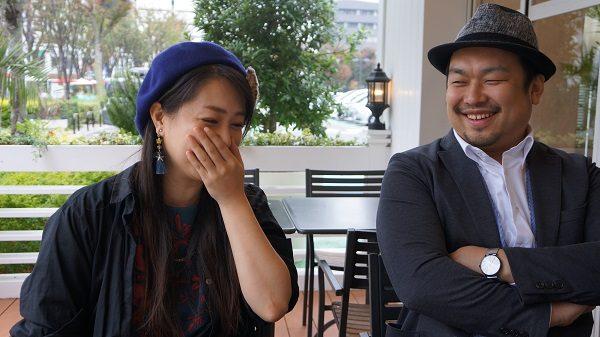 おかしさん 主宰 Saoriさん、代表 飯田健太さん