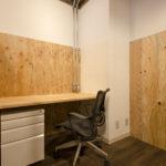 シェアオフィス6Fの個室